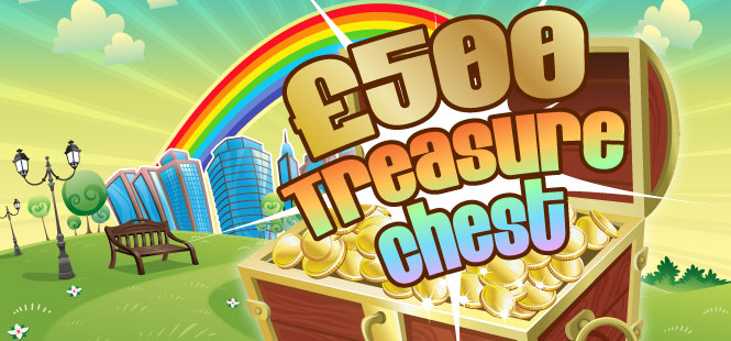 £500 Treasure Chest