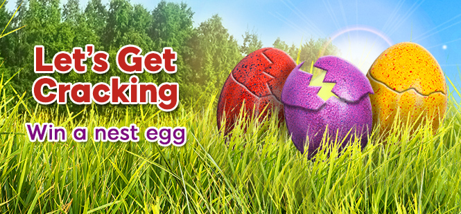 Win up to 150 Free Spins daily this Easter!
