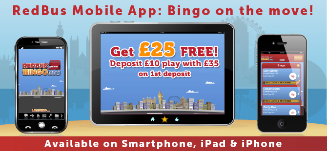 redbus bingo mobile
